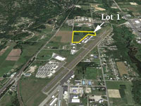 Commercial Lots available on the Sandpoint Airport