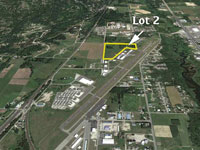 Commercial Lot 2 available on the Sandpoint Airport