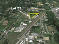 Commercial Lot 22 available on the Sandpoint Airport
